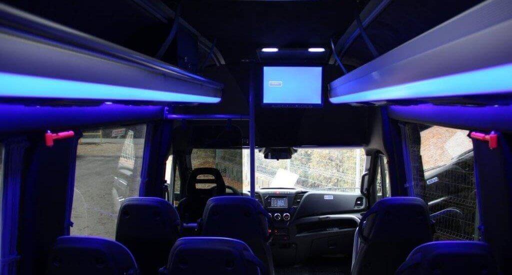 Zabudowy busów do przewozu osób, zabudowa busa, zabudowa busów, zabudowy do busów
